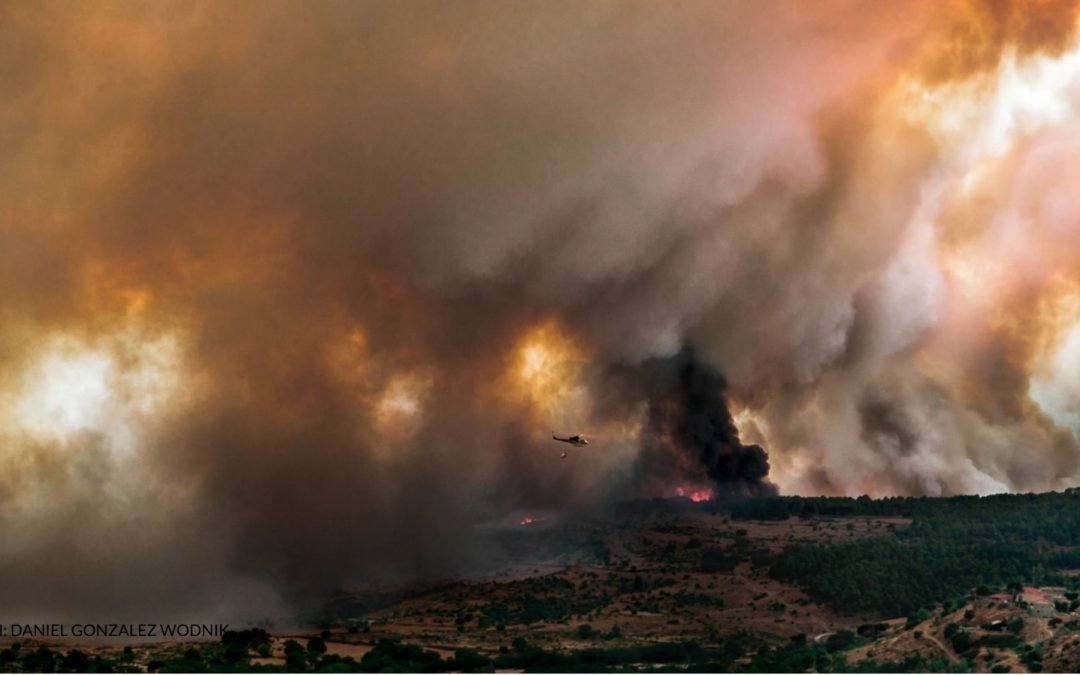 Otro incendio en la Sierra Oeste